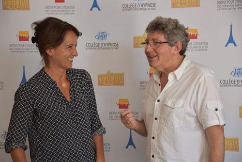 Brigitte MERAND, Kinésithérapeute, Hypnothérapeute, Thérapeute EMDR - IMO en formation au CHTIP avec Laurent GROSS
